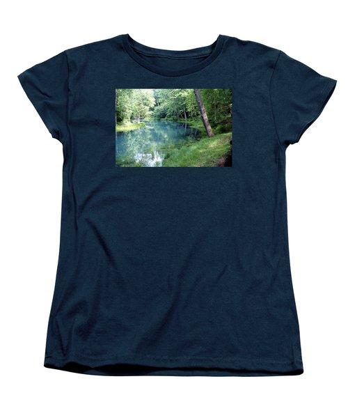 Maramec Springs 1 Women's T-Shirt (Standard Cut) by Marty Koch