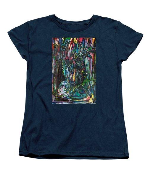 March Into The Sea Women's T-Shirt (Standard Cut) by Sheridan Furrer