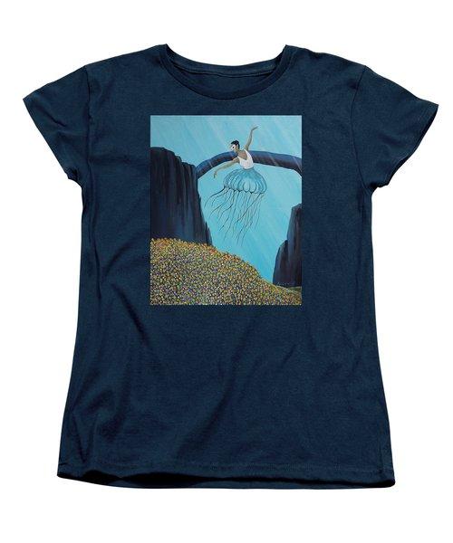 Mare Ballerina Women's T-Shirt (Standard Cut) by Edwin Alverio