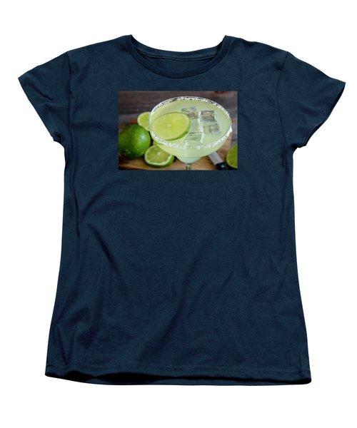 Women's T-Shirt (Standard Cut) featuring the photograph Margarita Close Up by Teri Virbickis