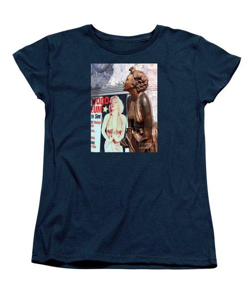 Marilyn Women's T-Shirt (Standard Cut) by Cheryl Del Toro