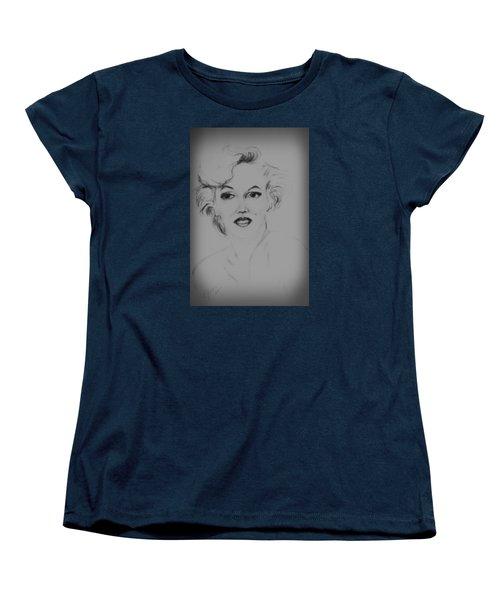 Marilyn Monroe Women's T-Shirt (Standard Cut) by Edgar Torres