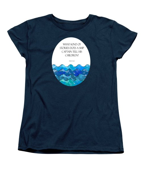 Maritime Humor For A Nursery Room Women's T-Shirt (Standard Cut) by Liesl Marelli