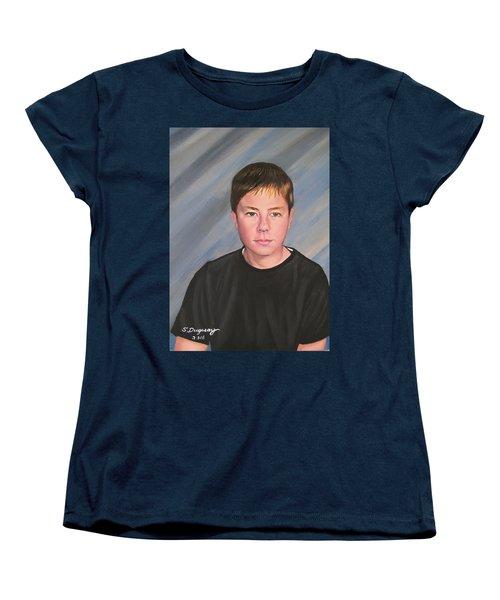 Mark Women's T-Shirt (Standard Cut) by Sharon Duguay