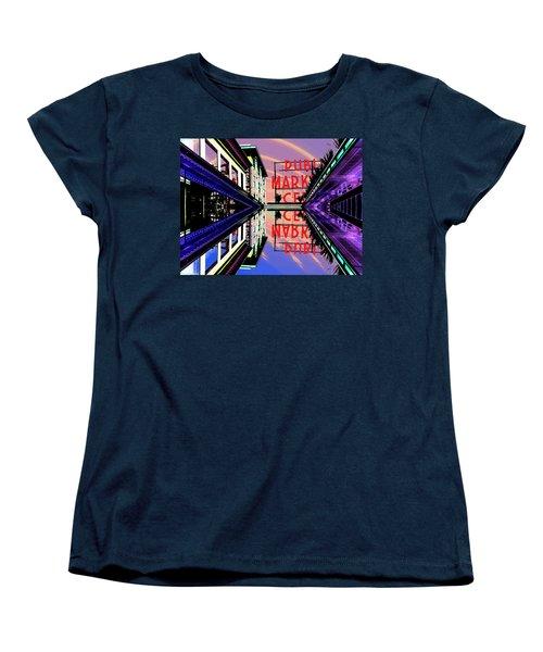 Market Entrance Women's T-Shirt (Standard Cut) by Tim Allen
