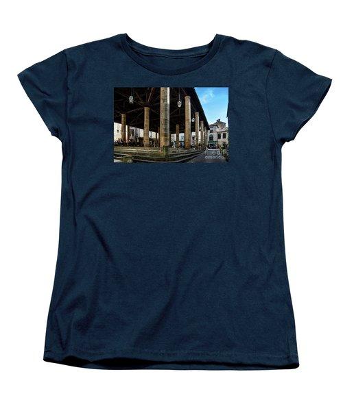 Market Hall Of Cordes-sur-ciel Women's T-Shirt (Standard Cut) by RicardMN Photography