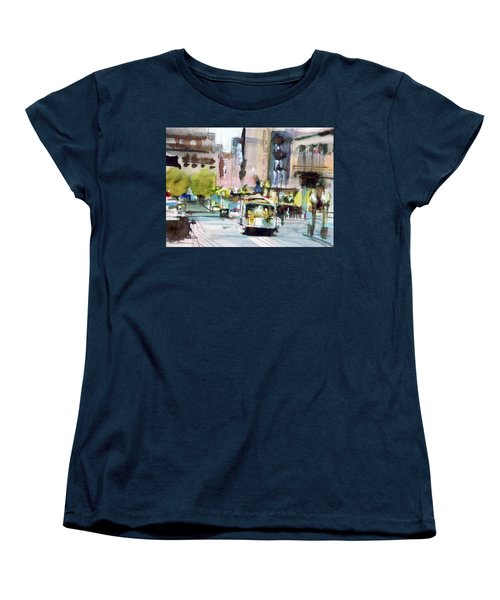 Market Street Women's T-Shirt (Standard Cut) by Ed Heaton