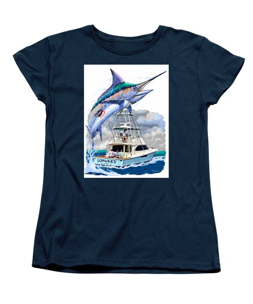 Marlin Commission  Women's T-Shirt (Standard Cut) by Carey Chen