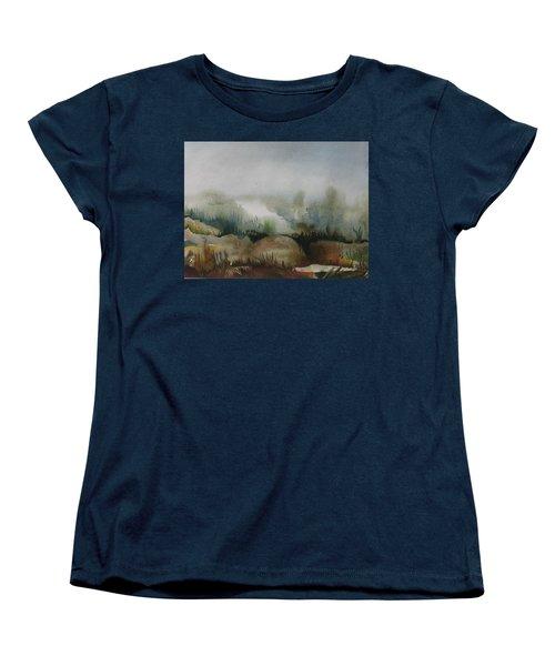 Marsh Women's T-Shirt (Standard Cut) by Anna  Duyunova