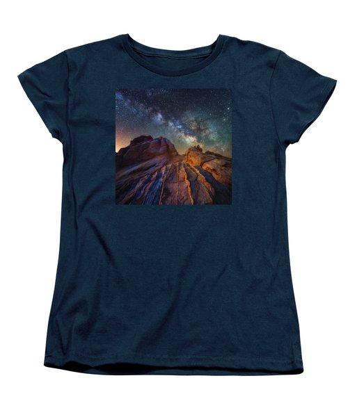 Women's T-Shirt (Standard Cut) featuring the photograph Martian Landscape by Darren White