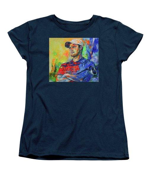 Martin Kaymer Women's T-Shirt (Standard Cut) by Koro Arandia