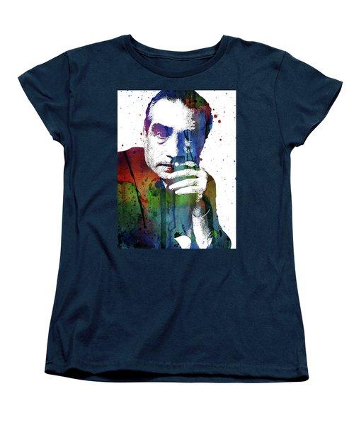 Martin Scorsese Women's T-Shirt (Standard Cut) by Mihaela Pater