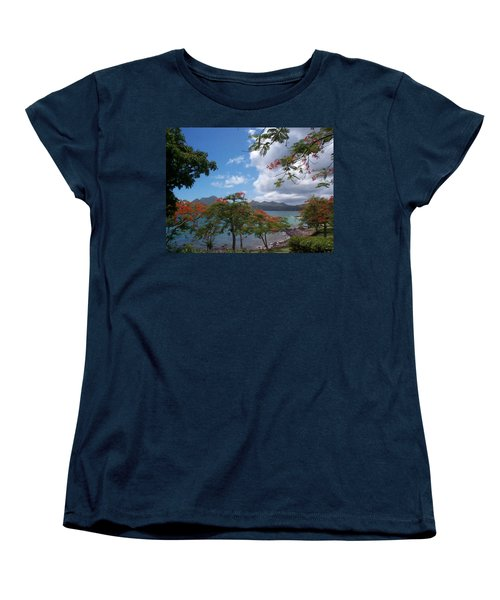 Women's T-Shirt (Standard Cut) featuring the photograph Martinique by Mary-Lee Sanders