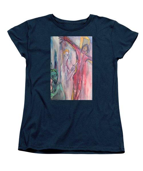 Martyrdom Women's T-Shirt (Standard Cut) by Kenneth Agnello