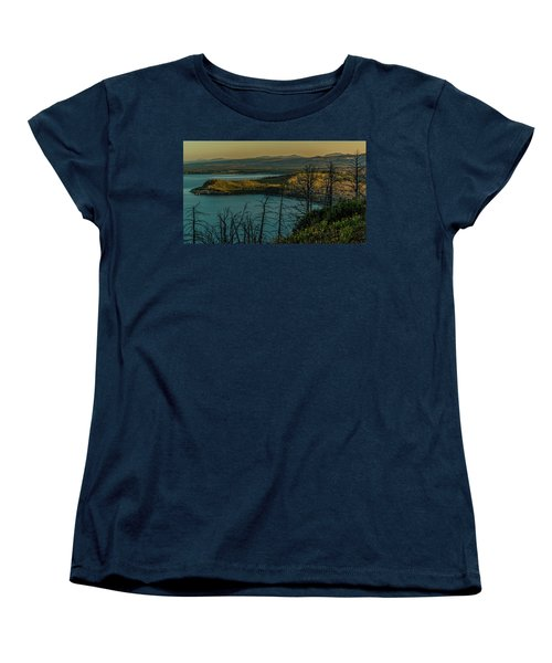 Mary Bay At Dawn Women's T-Shirt (Standard Cut) by Yeates Photography
