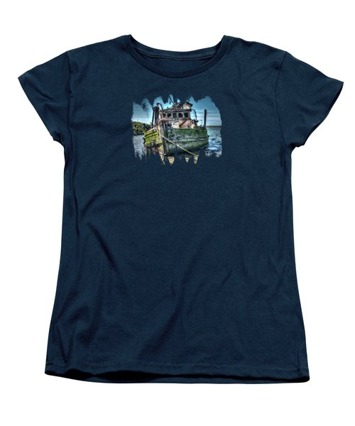 Mary D. Hume Shipwreak Women's T-Shirt (Standard Cut) by Thom Zehrfeld