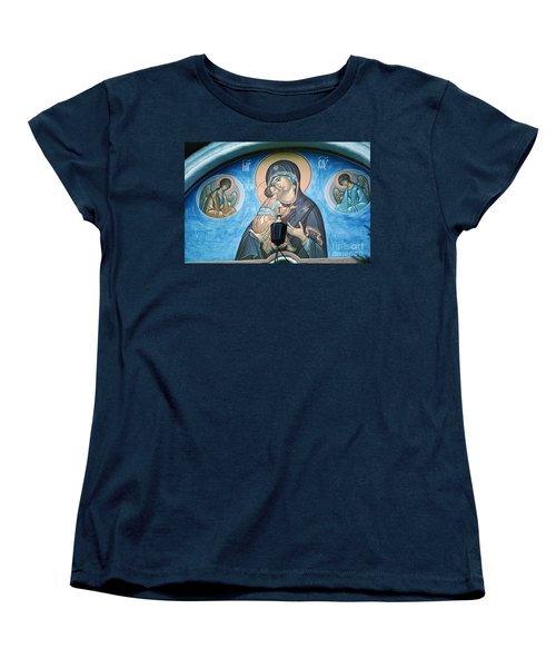 Mary Magdelena Jesus Christ Angels Trinity Lavra Women's T-Shirt (Standard Cut) by Wernher Krutein