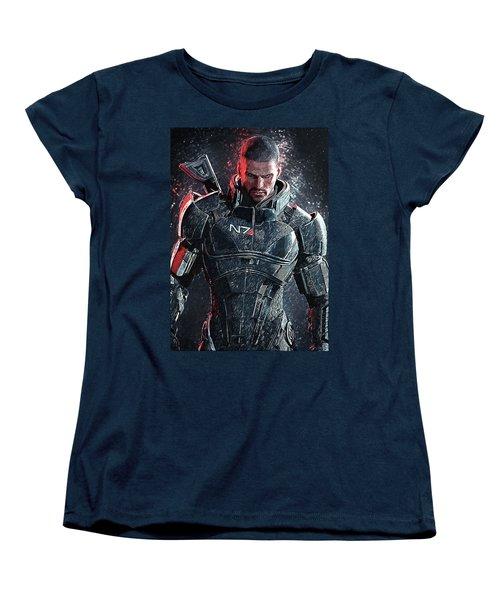 Mass Effect Women's T-Shirt (Standard Cut) by Taylan Apukovska