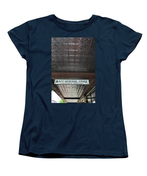 Women's T-Shirt (Standard Cut) featuring the photograph Mast General Store II by Skip Willits