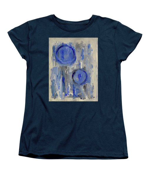 Women's T-Shirt (Standard Cut) featuring the painting Maternal by Victoria Lakes