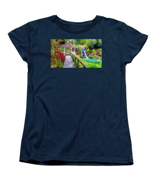 Maui Botanical Garden Women's T-Shirt (Standard Cut) by Michael Rucker