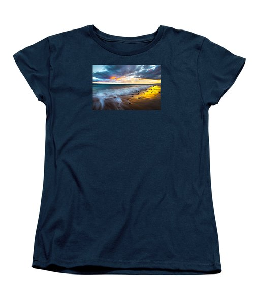 Maui Shores Women's T-Shirt (Standard Cut) by James Roemmling
