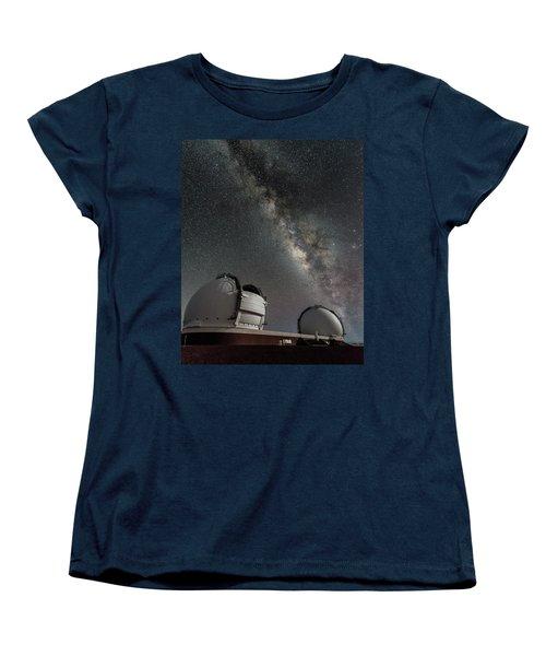 Mauna Kea Night Women's T-Shirt (Standard Cut) by Allen Biedrzycki