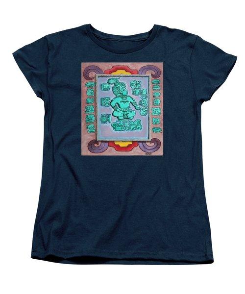 Mayan Prince Women's T-Shirt (Standard Cut) by Antonio Romero