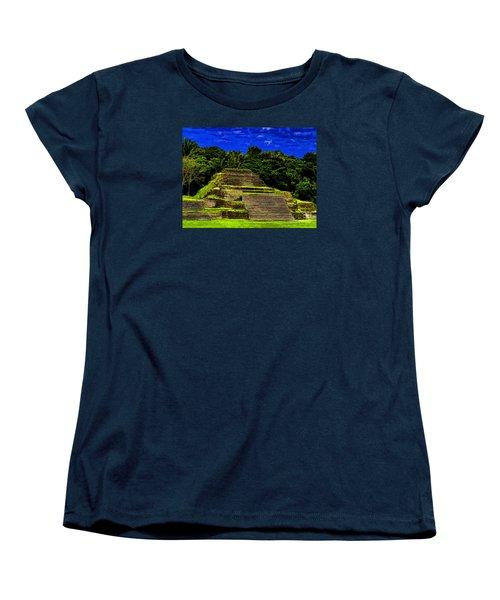 Mayan Temple Women's T-Shirt (Standard Cut)