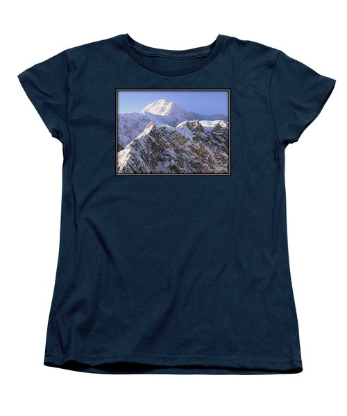 Women's T-Shirt (Standard Cut) featuring the photograph Mc Kinley Peak by James Lanigan Thompson MFA