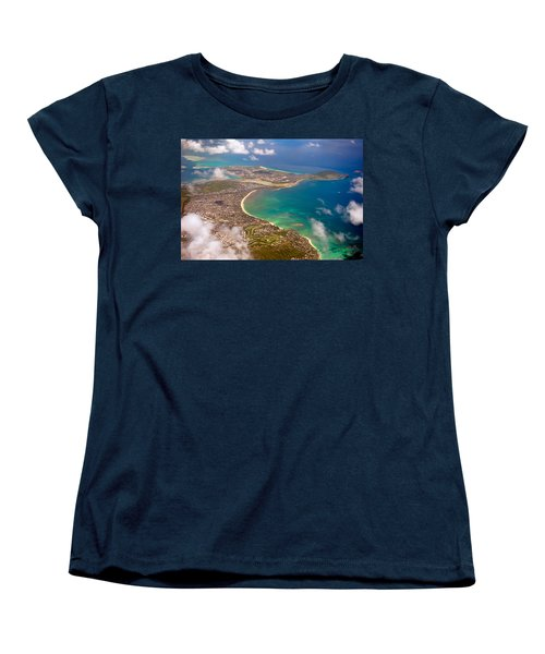 Women's T-Shirt (Standard Cut) featuring the photograph Mcbh Aerial View by Dan McManus