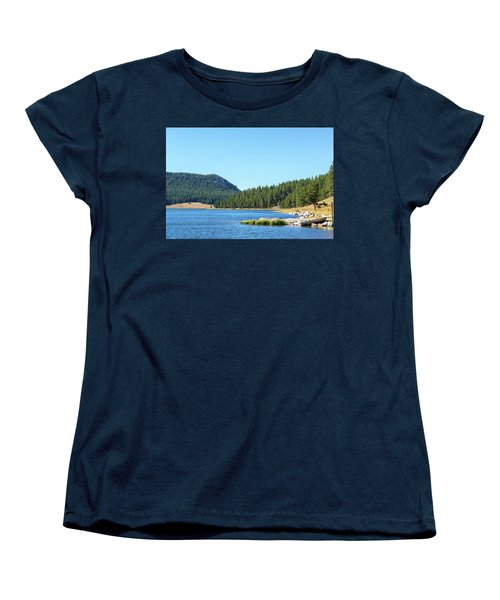 Meadowlark Lake View Women's T-Shirt (Standard Cut) by Jess Kraft