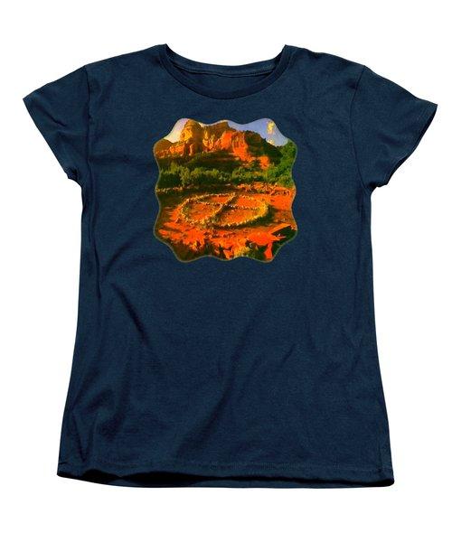 Medicine Wheel Women's T-Shirt (Standard Cut)