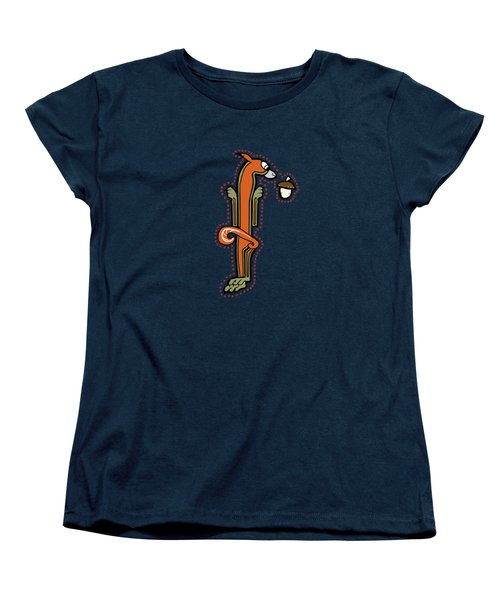 Medieval Squirrel Letter I Women's T-Shirt (Standard Cut)
