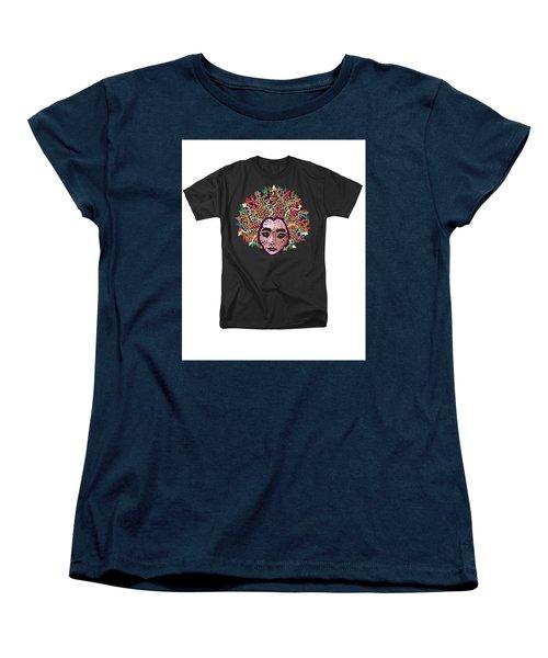 Medusa Bedazzled Tee Women's T-Shirt (Standard Cut)