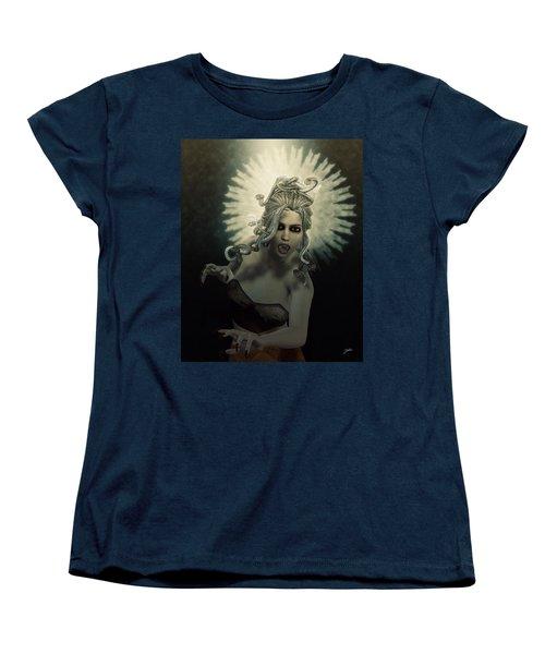 Medusa Women's T-Shirt (Standard Cut) by Joaquin Abella