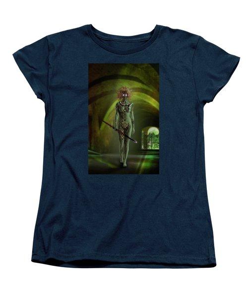 Medusa Women's T-Shirt (Standard Cut) by Scott Meyer