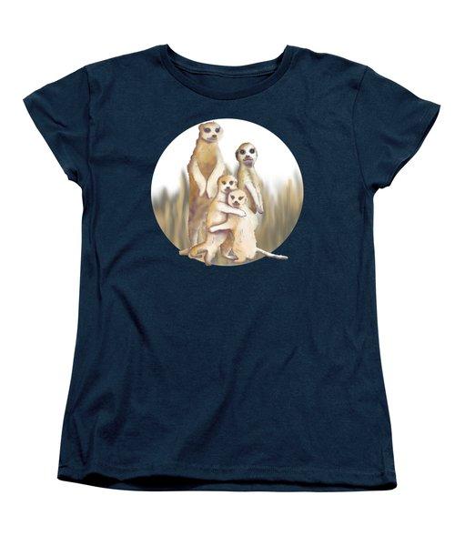 Meerkats  Women's T-Shirt (Standard Cut)