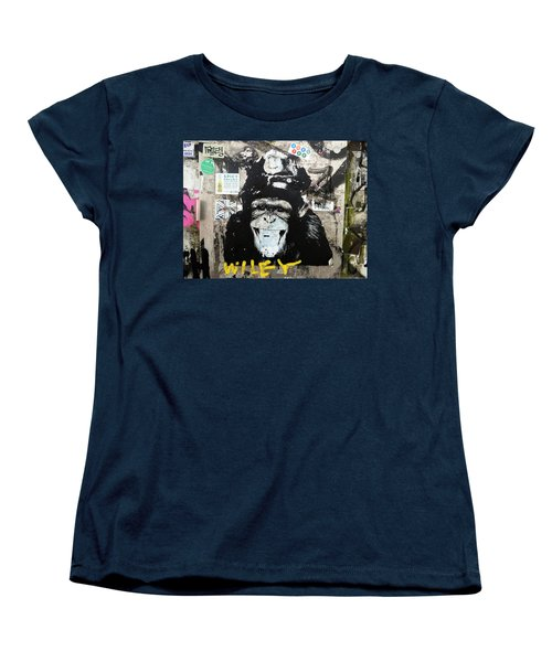 Meet Wiley In New York  Women's T-Shirt (Standard Cut) by Funkpix Photo Hunter
