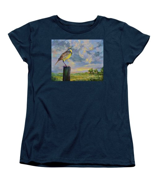 Melancholy Song Women's T-Shirt (Standard Cut) by AnnaJo Vahle