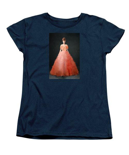 Women's T-Shirt (Standard Cut) featuring the digital art Melody by Nancy Levan