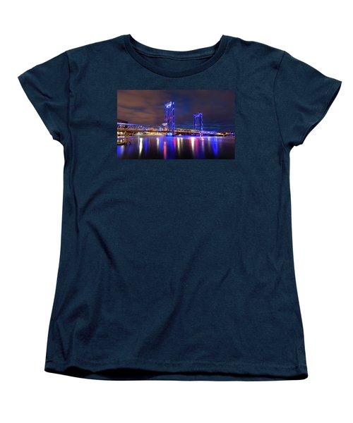Women's T-Shirt (Standard Cut) featuring the photograph Memorial Bridge by Robert Clifford