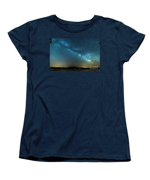 Memorial Day Milky Way Women's T-Shirt (Standard Cut) by Patrick Fennell