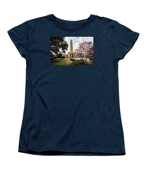 Memorial Tower - Lsu Women's T-Shirt (Standard Cut) by Scott Pellegrin