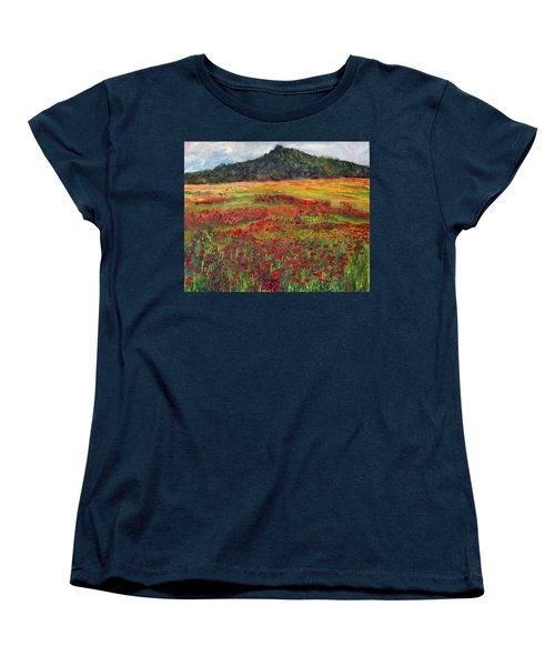 Memories Of Provence Women's T-Shirt (Standard Cut) by Michael Helfen