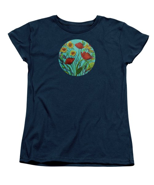 Memories Of The Meadow Women's T-Shirt (Standard Cut) by Mary Wolf