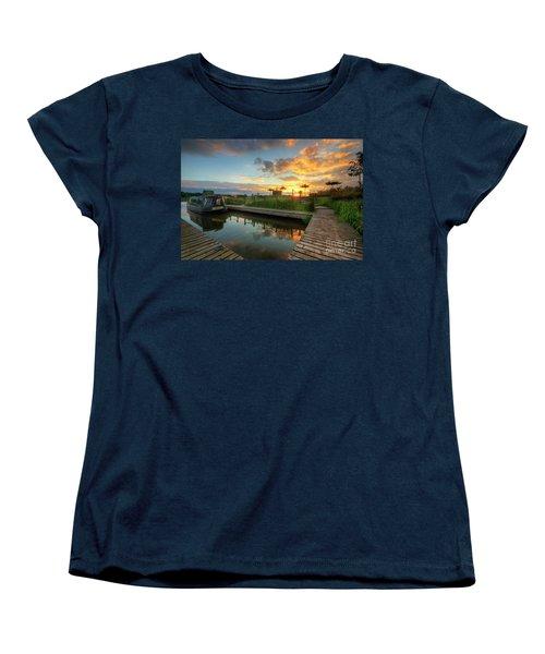Women's T-Shirt (Standard Cut) featuring the photograph Mercia Marina 13.0 by Yhun Suarez