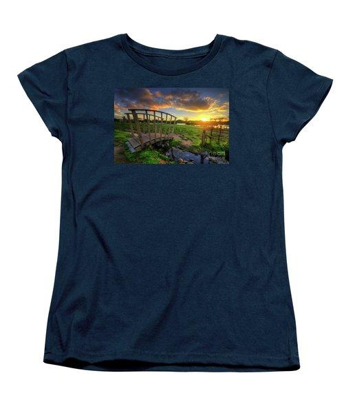 Women's T-Shirt (Standard Cut) featuring the photograph Mercia Marina 16.0 by Yhun Suarez
