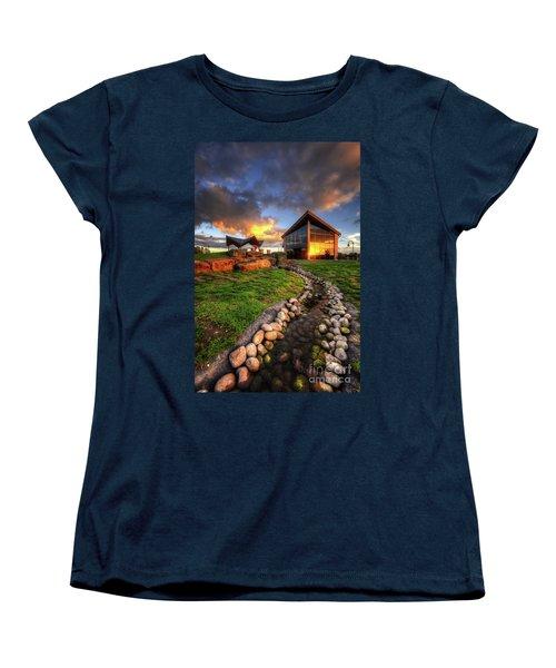 Women's T-Shirt (Standard Cut) featuring the photograph Mercia Marina 17.0 by Yhun Suarez