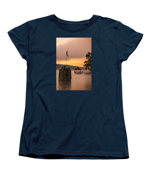Women's T-Shirt (Standard Cut) featuring the photograph Meredith New Hampshire by Robert Clifford